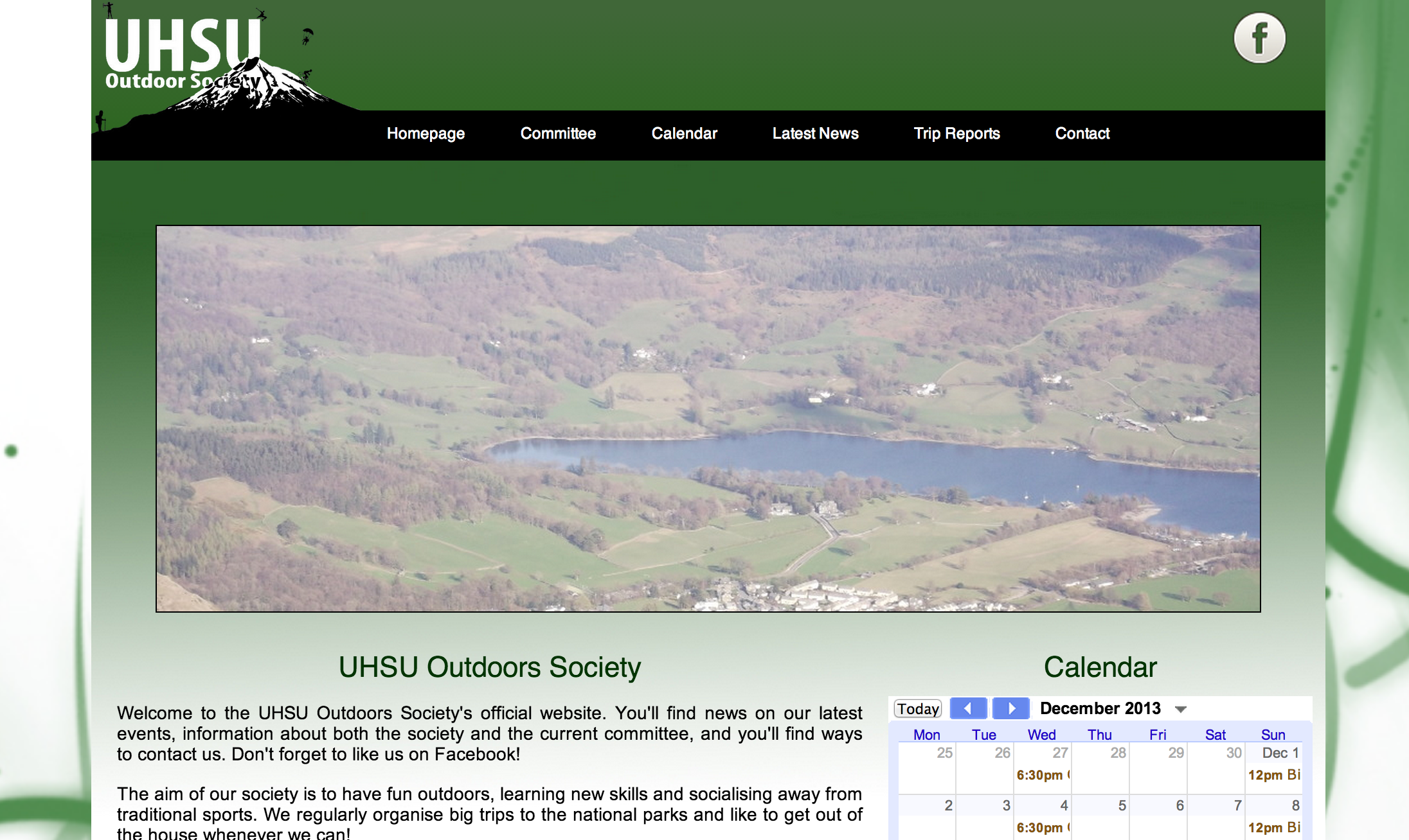 Outdoor Society Website